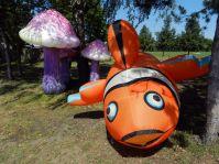 Nemo bei den Pilzen