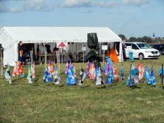Das Aktions-Zelt zum Drachen basteln