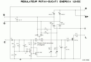 Test : Alternateur  régulateur  batterie ULM