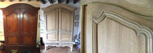 decapage de meubles anciens par