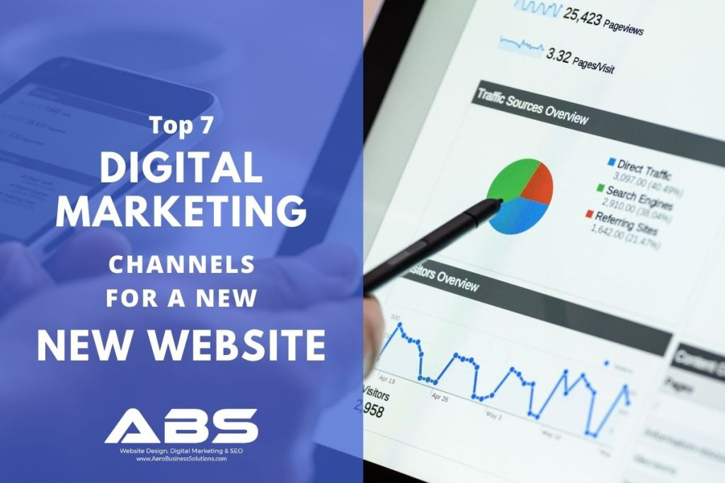 Top 7 Digital Marketing Channels For A New Business Website | ABS Digital Marketing Agency Bangalore