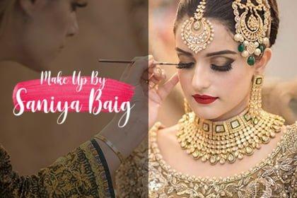 make up saniya baig