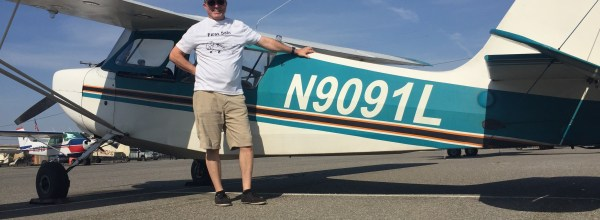 First Solo Flight – Gary Hethcoat