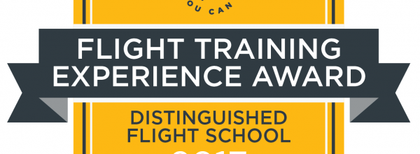2017 Distinguished Flight School Award!