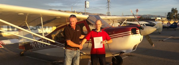 New Private Pilot – Adam Lantos