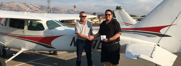 New Private Pilot – Trevor Orr