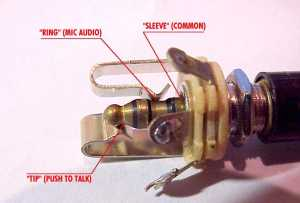 AeroElectric Connection  Aircraft Microphone Jack Wiring