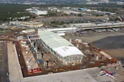 Aeroporto de Brasília em obras pela operadora que arrematou no leilão do governo