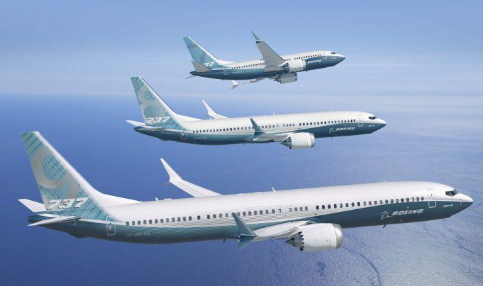 Estrela da Boeing hoje, com muitas encomendas.