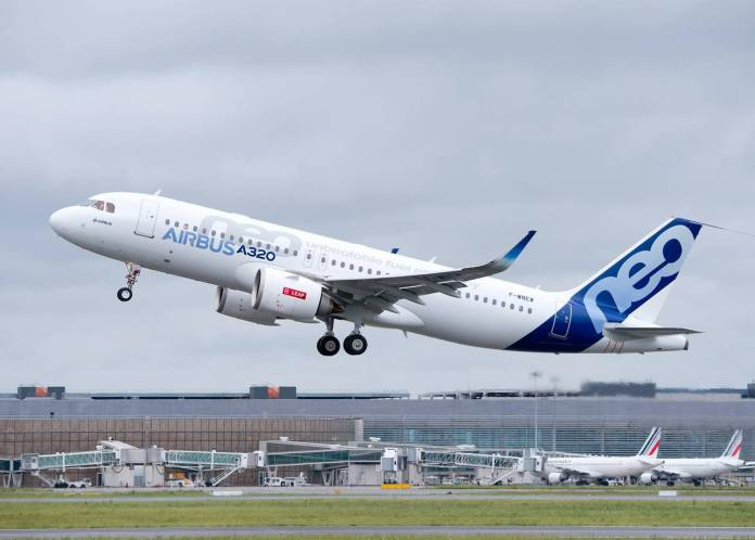 First-LEAP-powered-A320neo-takes-to-the-skies
