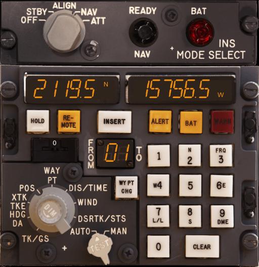 Sistema de loc geográfico que equipou os primeiros Tristar, menos atualizado que a série 500.