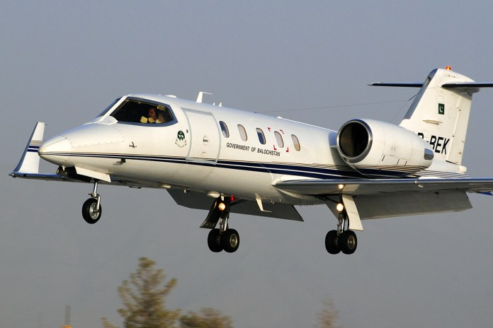Learjet 31 - Foto: Wikipédia