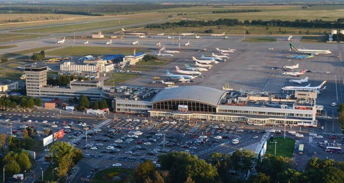 Aeroporto Borispol em Kiev. Foto - Kiev Airport