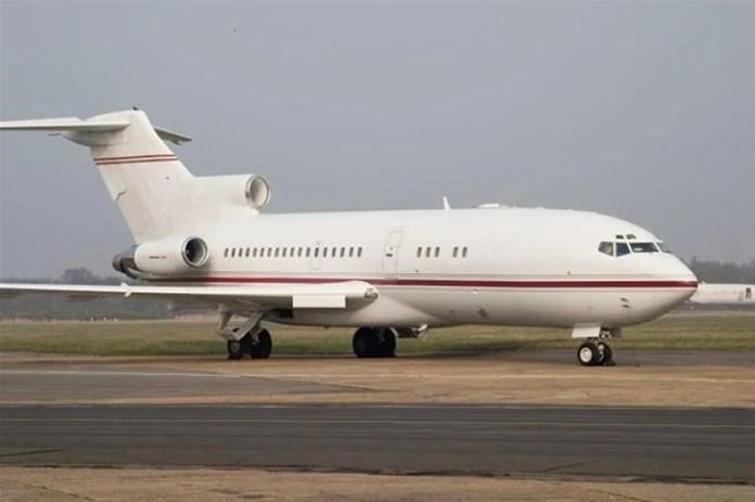 Boeing 727 trijato lançado pela boeing nos anos 60.