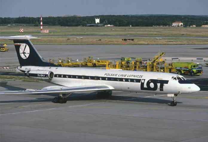 Tupolev 134.