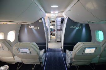 Interior do MC-21. Foto - Aleksey Kudenko