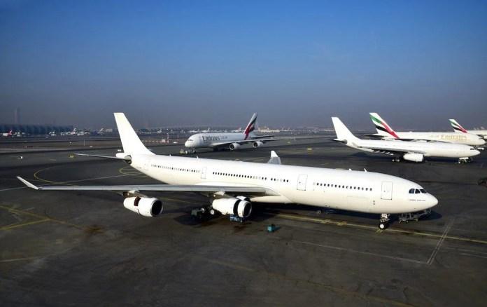 Último A340 da Emirates. Foto - Divulgação/Emirates