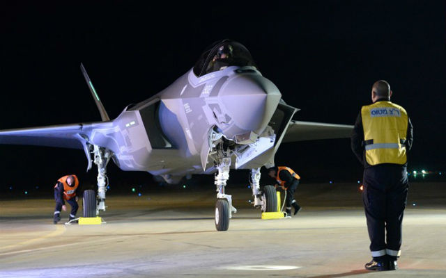 Lockheed Martin F-35IS. Foto - Força Aérea de Israel