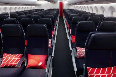 Economy Class do Boeing 787-9 da Air France