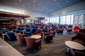 Sky Club no Hartsfield Jackson International airport. Foto - Delta