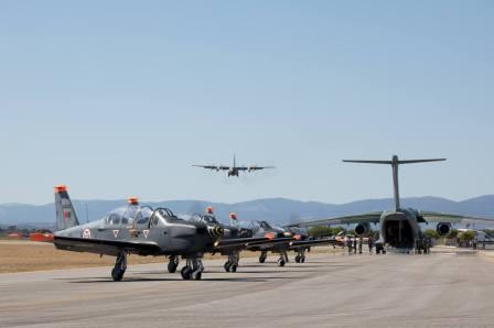 Foto - Força Aérea Portuguesa/Reprodução