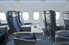 Interior do 737 MAX 8 da American Airlines (Foto: Boeing)
