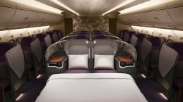 Business Class Singapore Cama