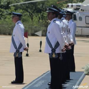 Alto Comando da Aeronaútica, destaque ao Tenente Brigaderio,Luiz Rossato que está mais a frente