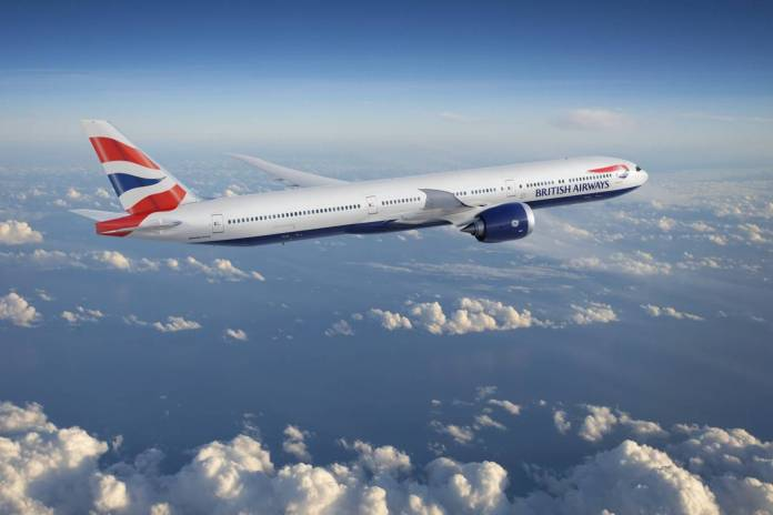 British Airways Boeing 777X Reino Unido