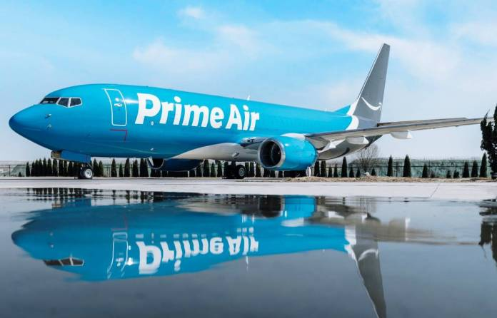 Amazon Prime Air Boeing 737-800BCF Cargo