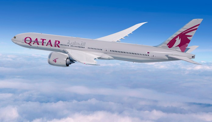 Boeing 777X Qatar Airways