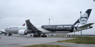 LATAM Brasil Boeing 777