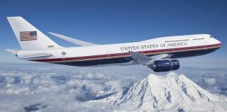 Air Force One Boeing 747