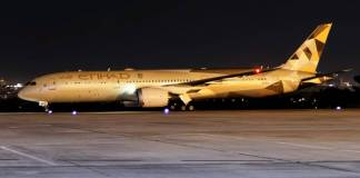 Etihad Airways Boeing 787-9