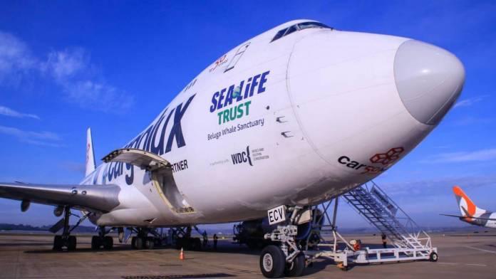 Confins Boeing 747 - Vacina Covid-19