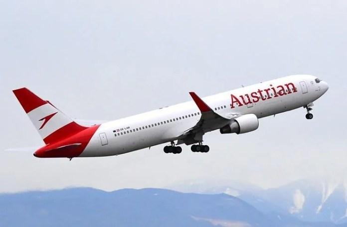 Boeing 767-300 Austrian Airlines