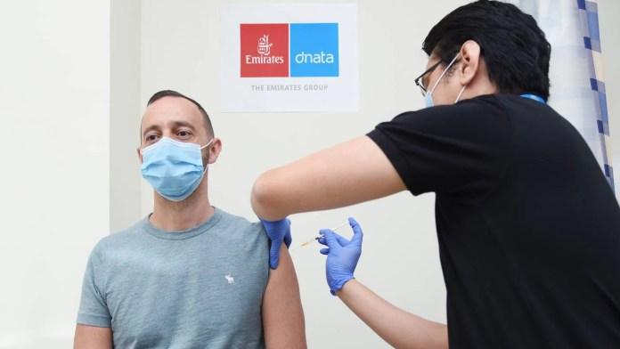 Emirates Vacina
