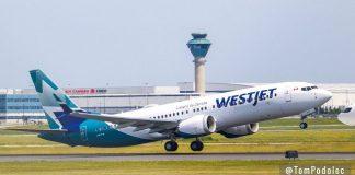 Boeing 737 MAX WestJet Canadá