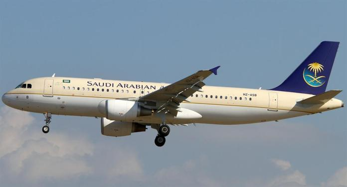 Saudia Airlines Airbus A320
