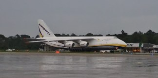 Antonov An-124 em Belém