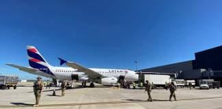 Aeroporto de Confins Vacinas CoronaVac