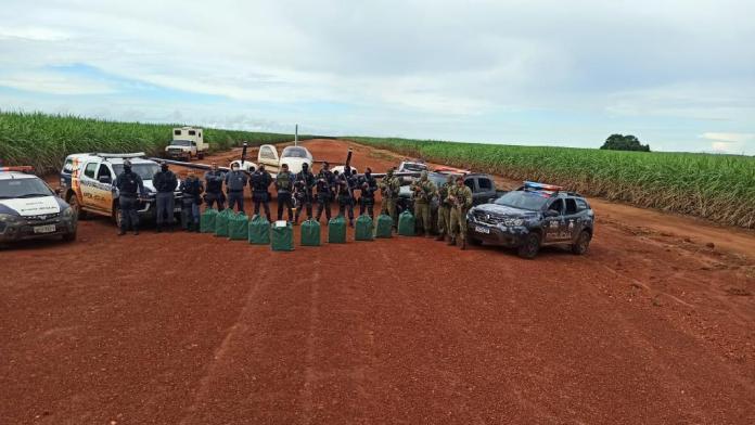 Polícia Militar Mato Grosso Avião Droga