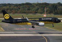 Airbus A320 Eurowings Borussia Dortmund