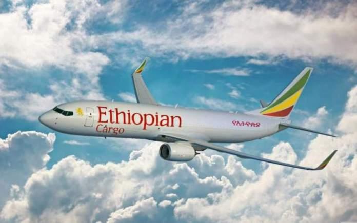 Boeing 737-800BCF Cargo Ethiopian