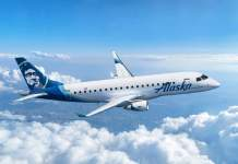 Alaska Airlines Embraer E175
