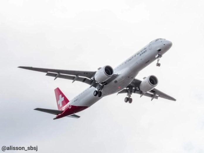 Embraer Helvetic E195-E2
