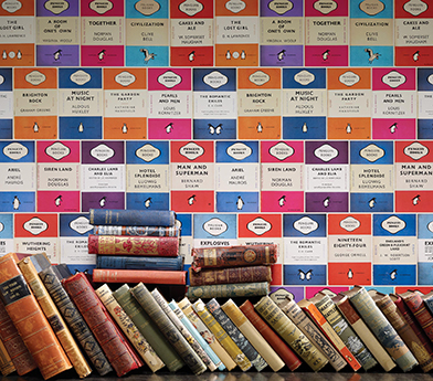 Penguin Books themed wallpaper