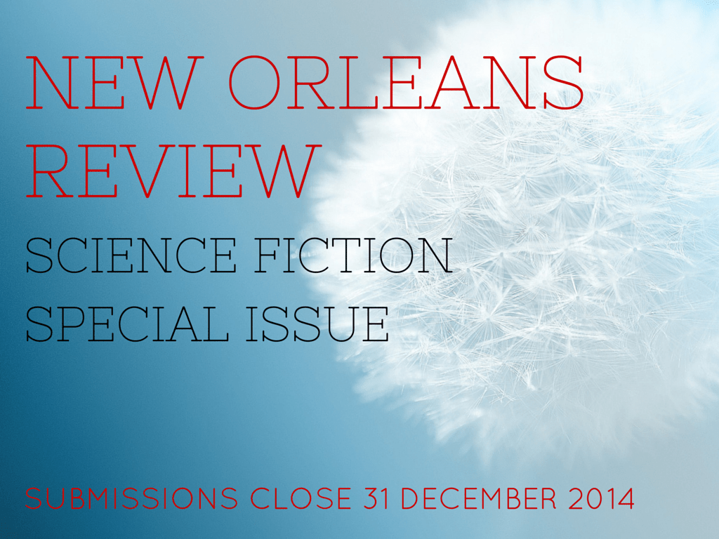 New Orleans Review is Accepting Work for a Special Science Fiction Issue