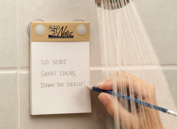 Christmas Gifts for Writers - Aqua Notes Waterproof Notepad