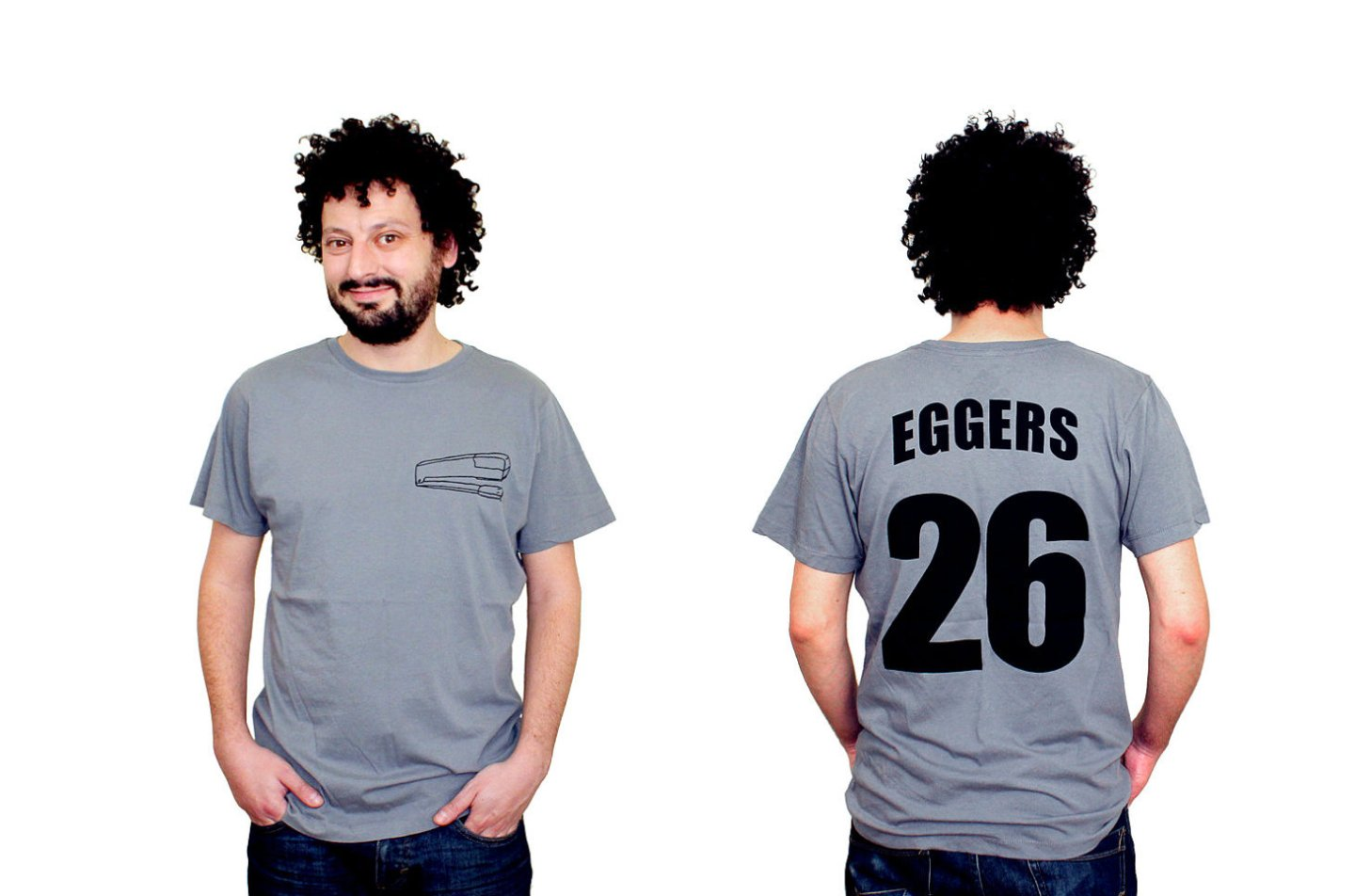 Christmas Gifts for Writers - Dave Eggers Literary Tshirt